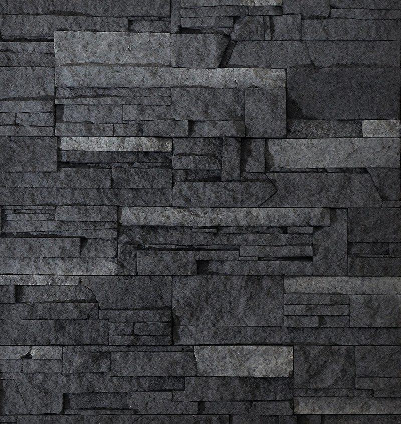 Kámen lámaný - tmavošedý