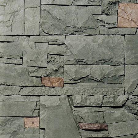 Kámen MIX - zelenošedý