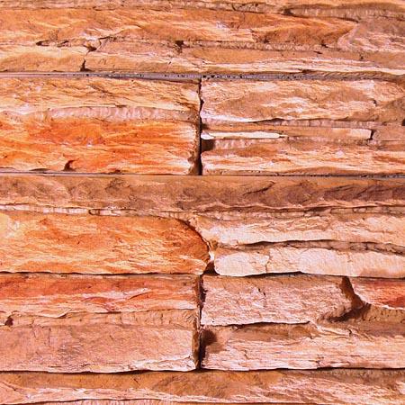 Skála Ohnivá - oranžovo-červená